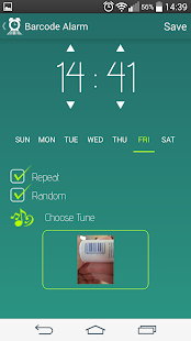 Barcode Alarm - screenshot