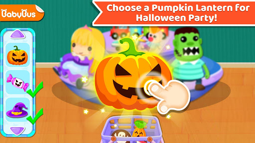 Baby Panda's Supermarket-Halloween Party Shopping