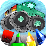 Cars Colouring Book for Kids Icon