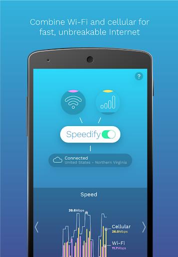 Speedify VPN - Unlimited Secure VPN screenshot 1
