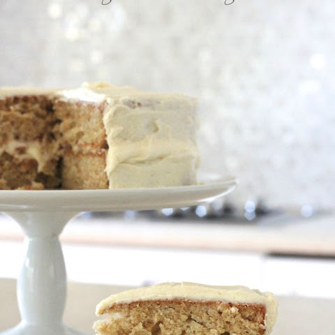 Apple Spice Cake with Apple Cream Cheese Frosting