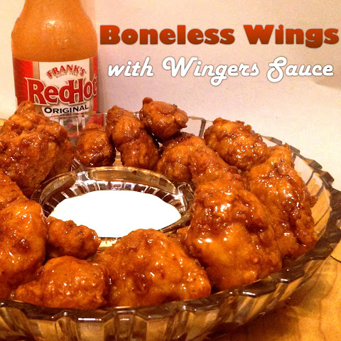 Boneless Wings with Wingers Sauce