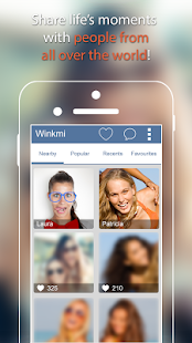 Winkmi: meet new people - screenshot