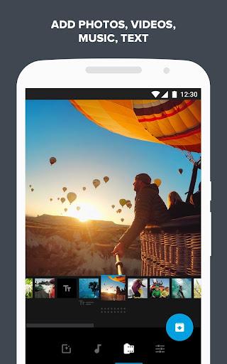 Quik – Free Video Editor for photos, clips, music screenshot 1