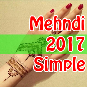 Simple Mehndi Designs 2017