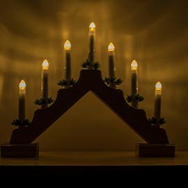 Festive Lights by Jolyon Vincent - Artistic Objects Other Objects (  )