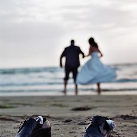 by Sokol Cekrezi - Wedding Bride & Groom
