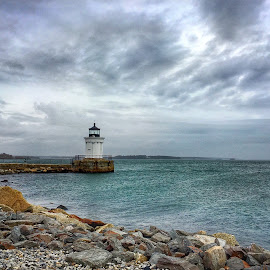 Bug Light by Margie Troyer - Buildings & Architecture Public & Historical