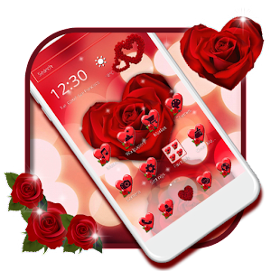 Download Wine Red Rose Theme for Android