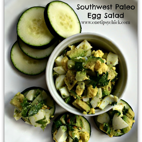 Southwest Paleo Egg Salad