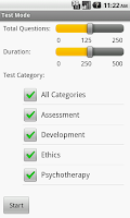 Screenshot of Social Work Clinical Exam Prep