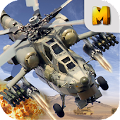 Download Android Game Apache Gunship Heli Battle 3D for Samsung