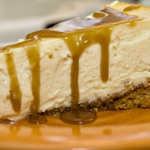 Cheesecake with Whiskey Butter Sauce