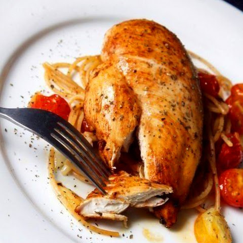 Chicken breast with lemon and Chile