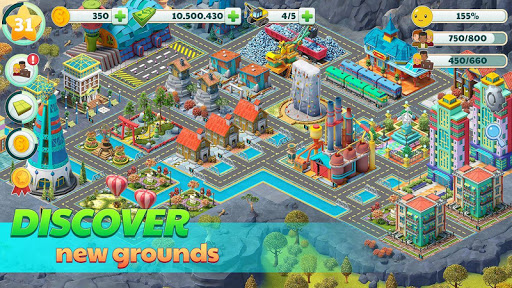 Town City - Village Building Sim Paradise Game 4 U screenshot 3