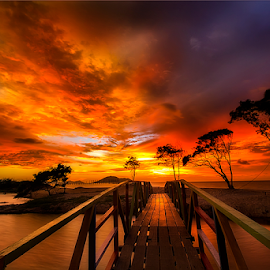 Golden timing by Dany Fachry - Landscapes Beaches