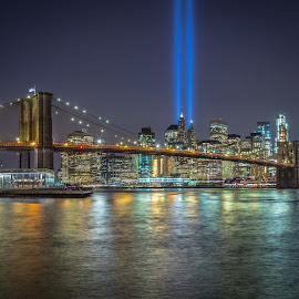 Tribute in Lights by David Long - City,  Street & Park  Skylines