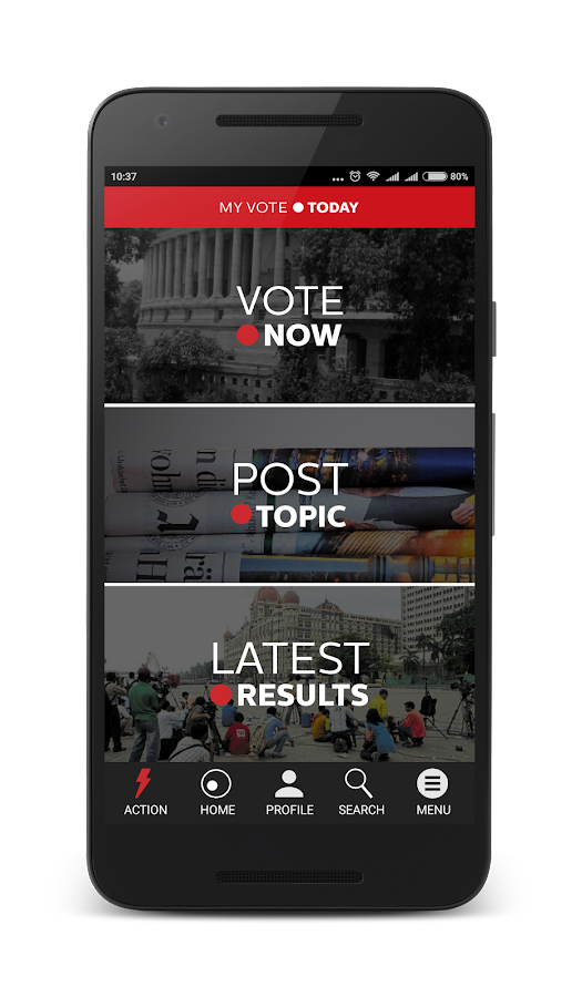 MyVote Today Screenshot 0