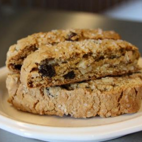 Oatmeal Raisin Almond Biscotti