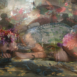 Dreaming by Alicja Photography - Digital Art People (  )
