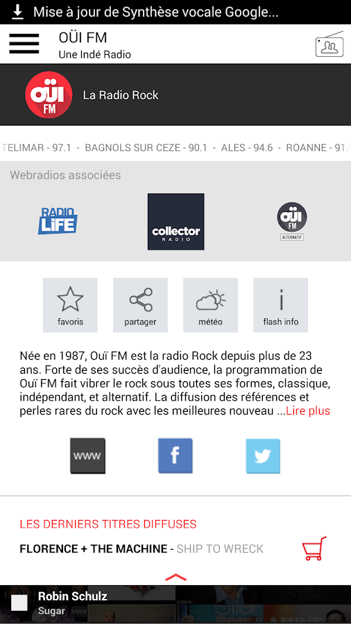 Les Indes Radios Screenshot 1