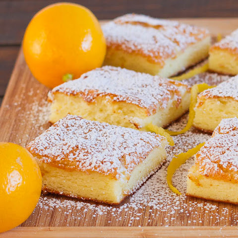 Two Ingredient Fat Free Lemon Bars