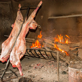 Asado by Alastair Munro - Food & Drink Meats & Cheeses ( patagonia, argentinian, meat, cooking, sheep, lamb, bbq, asado, fire )