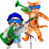 Talking Cat vs Singing Dog APK for iPhone