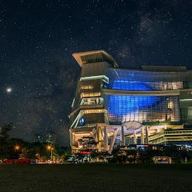Star Vista by Sam Song - City,  Street & Park  Skylines ( ncc, church, pastor prince, ps prince, sunset, new creation church, bv, shopping, joseph prince, singapore, milky way, buona vista )