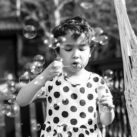 Bubbles by Sara Skog - Babies & Children Children Candids
