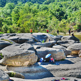 ---------Big Rocks Park-------- by Neal Hatcher - Nature Up Close Rock & Stone