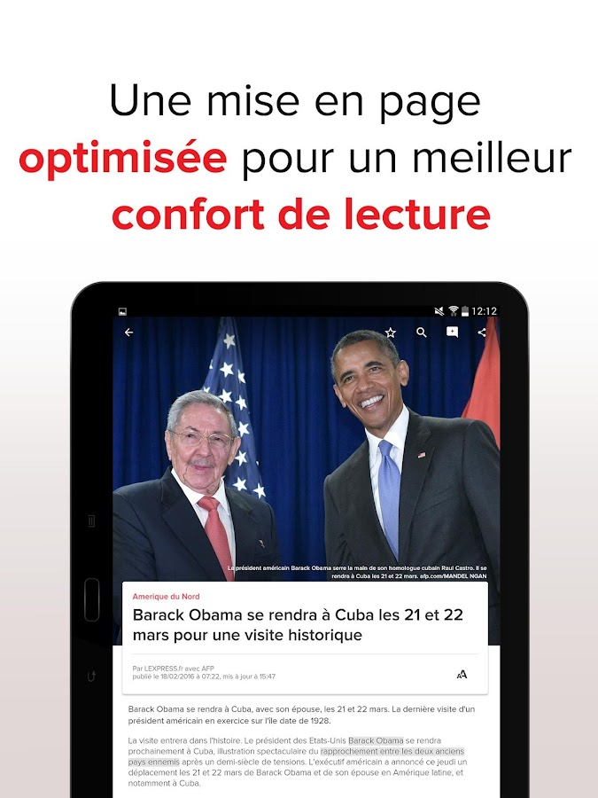 L'Express : l'actu en continu Screenshot 9