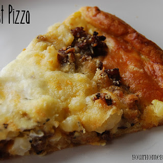 Holiday Recipes – Breakfast Pizza