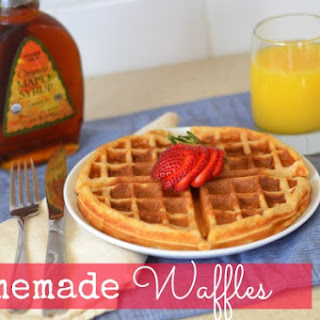 Homemade Waffles Without Milk Recipes