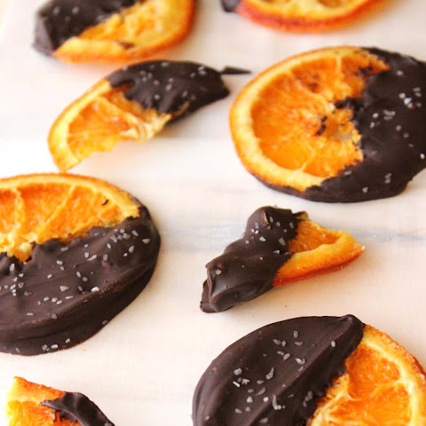 Chocolate Dipped Candied Orange Slices