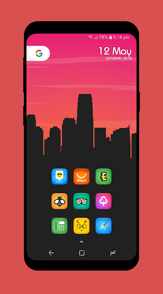 Fab Pro - Icon Pack Screenshot Image