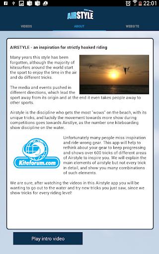 AIRSTYLE - Kitesurfing Tricks - screenshot