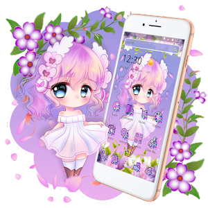 Cute Princess Kawaii Girl Theme💃 Online PC (Windows / MAC)