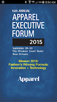 Screenshot of Apparel Executive Forum