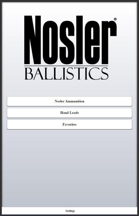 Nosler Ballistics 2.0 Screenshot 8