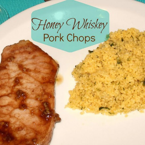 Honey Whiskey Pork Chops – Only 5 Ingredients!
