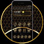 Luxury Black Leather Theme Icon