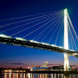 The Bridge by Ken Smith - Buildings & Architecture Bridges & Suspended Structures ( omaha, pedestrian bridge, landscape )