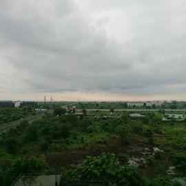 Nagpur  by Dineshkumar Palanaichamy - Digital Art Places ( plants, clouds, building )
