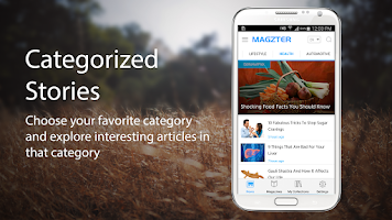 Screenshot of Magzter - News and Magazines