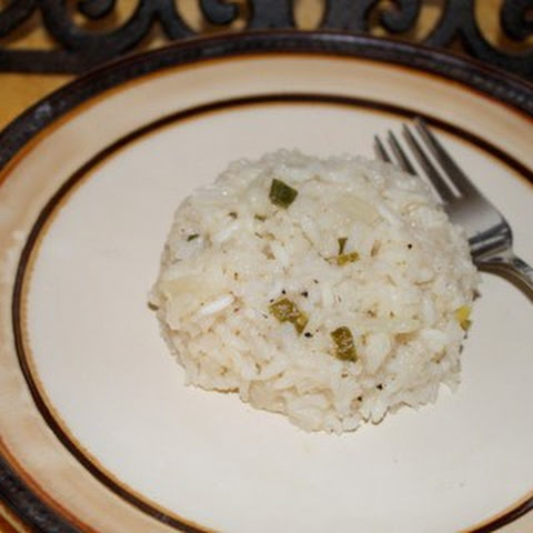 Double Onion Rice Pilaf