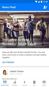 Runtastic Running & Fitness APK screenshot thumbnail 5