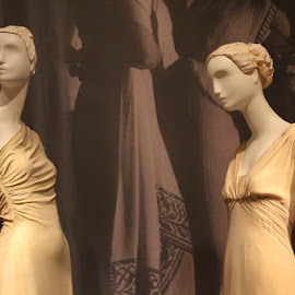 Designer Clothes on Manequin by Janet Marsh - Artistic Objects Clothing & Accessories ( palace of legion of honor, maniquin, manequin, san francisco,  )