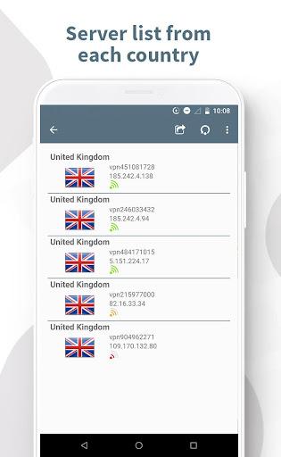 Ghost VPN - Unlimited & Free VPN Worldwide screenshot 3