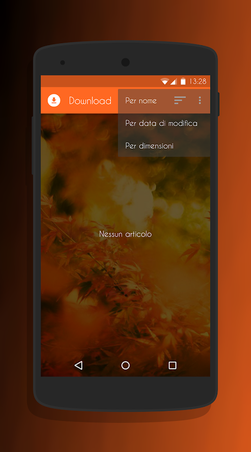 Transparent Orange -CM13 Theme Screenshot 6